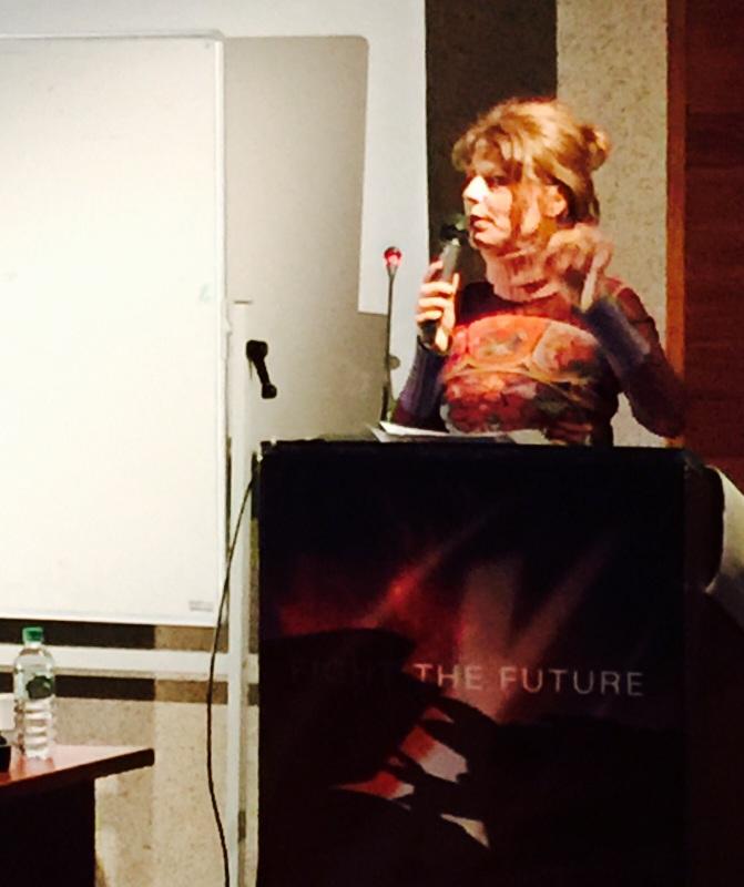 M-Laure conférence à Paris Novembre 2015